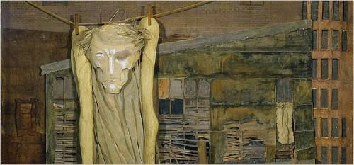 Mina Loy Christ on a Clothesline, c. 1955.jpg
