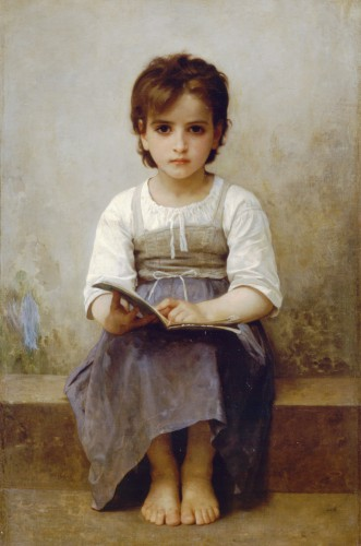 William Bouguereau the-hard-lesson-1884.jpg