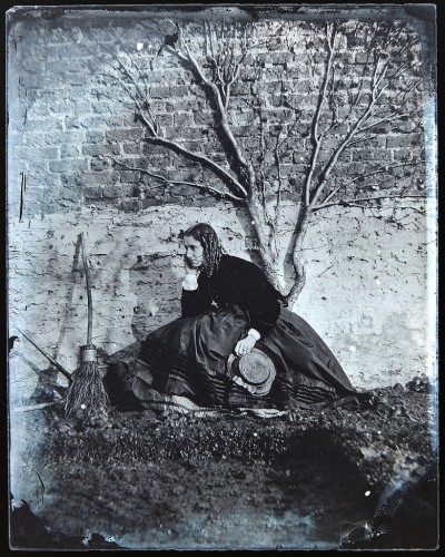 Unknown Model and Photographer. Wet Plate Collodion, circa 1865.jpg