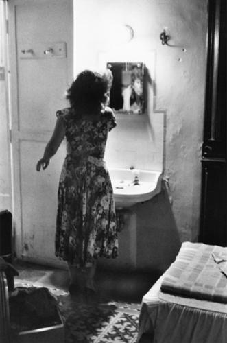 Charles Harbutt     Joan in the Gran Hotel, Merida, Yucatan, Mexico      1981.png