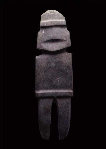 Figurilla Antropomorfa cultura del Mezcala, Guerrero, México. Período preclásico.jpg