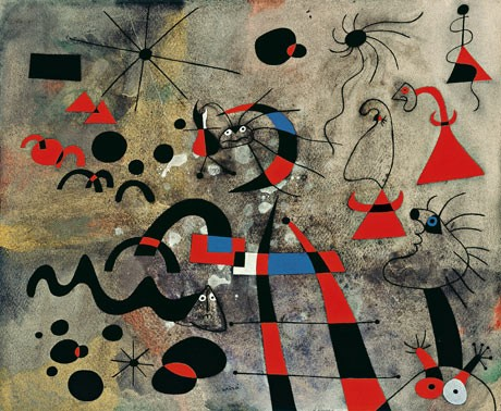 Joan Miro The Escape Ladder, 1940,.jpg