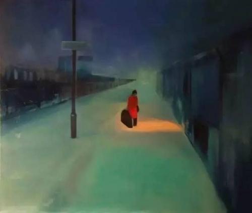 Marta Zamarska A Railway Nocturne IV.jpeg