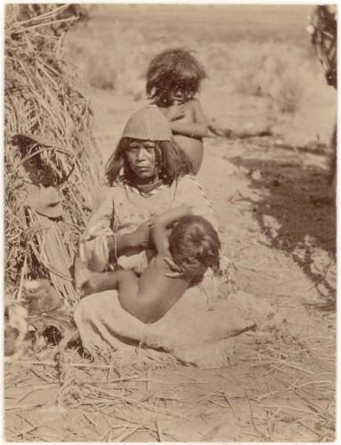 John k hillers Kaibab Paiute woman nursing .jpg