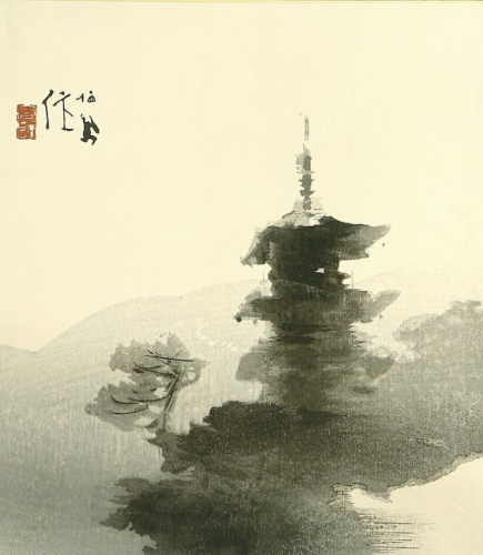 Takeuchi Seiho Yasaka Pagoda  c.1900.jpg