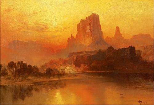 Thomas Moran_-_The_Golden_Hour_-1875.jpg