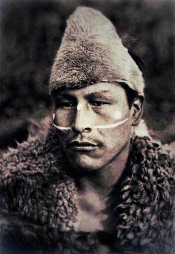Martin Gusinde Selknam man named Toin  1923..jpg