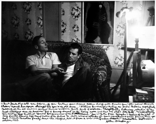 Allen Ginsberg William S. Burroughs & Jack Karouac, New York, 1953.jpeg