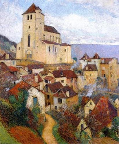 Henri Martin  Saint Cirq Lapopie 1929.jpg