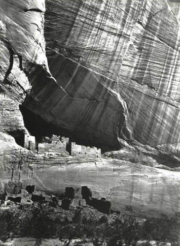 TIMOTHY H. O'SULLIVAN. Ancient Ruins in the Canyon de Chelle, New Mexico, 1873. .jpg