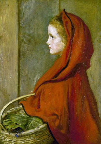 Red Riding Hood  by Sir John Everett Millais .jpg