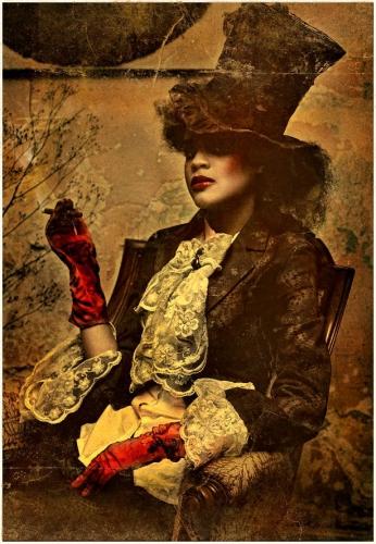 Katarzyna Widmanska costume de Katarzyna Konieczka Mad Hatter from the Alice in Wonderland series_n.jpg