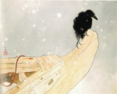 Takeuchi_Seiho,_'Spring_Snow'_(Shunsetsu)_by_1942.jpg