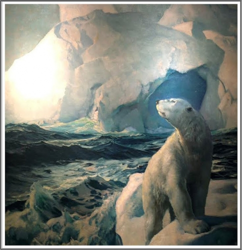 Frederick Judd Waugh (1861-1940), 70 Degrees North (The Polar Bear) - 1932.jpg