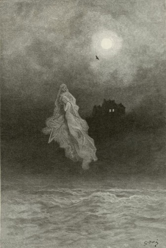 Gustave Dore the raven Poe Back into the Tempest .jpg