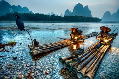 Christian Ortiz The Cormorant Fishermen of Xingping Yangshuo Guangxi chine.png