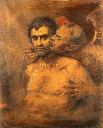 Benoît-Hermogaste Molin Le Baiser rendu Judas et Satan.jpg