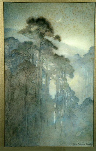 Alice Ravenel Huger Smith Swamp at night.jpg