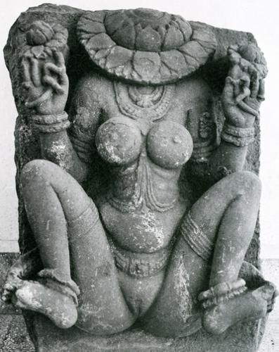Lajja Gauri, la déesse à tête de lotus - Abondance et fertilité.jpg