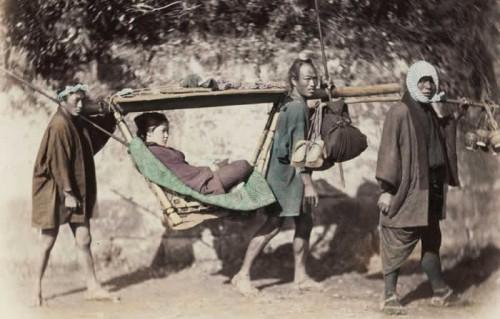 Felice_Beato_Palanquin Japon entre 1863 1877.jpg