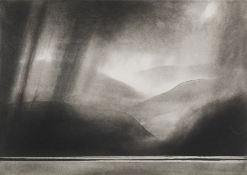 Norman Ackroyd Loch Broom from Achiltibuie 1993.jpg