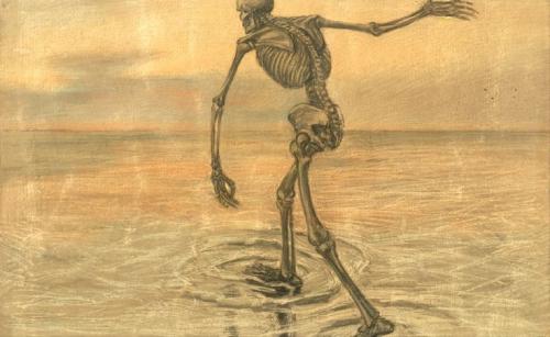 Teodors Ūders Death , etching 1914.jpg